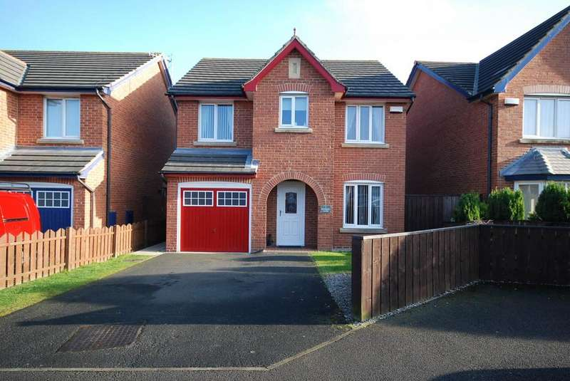 4 Bedrooms Detached House for sale in Kenmore close, Wardley