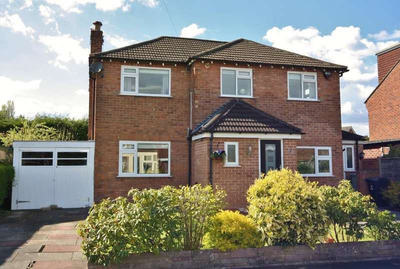 4 Bedrooms Detached House for sale in Chatsworth Road, Wilmslow