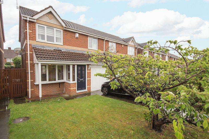 3 Bedrooms Semi Detached House for sale in Broad Meadows, Kenton, Newcastle upon Tyne