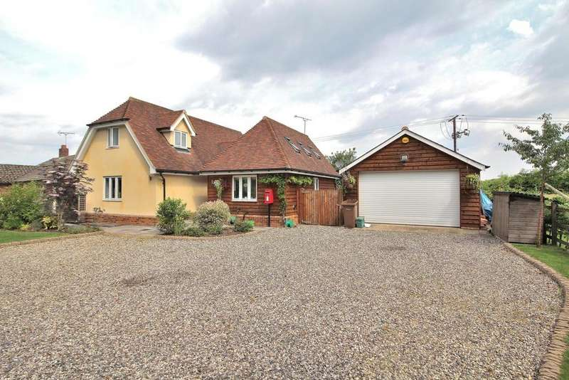 4 Bedrooms Detached House for sale in Banters Lane, Great Leighs, Chelmsford, Essex, CM3