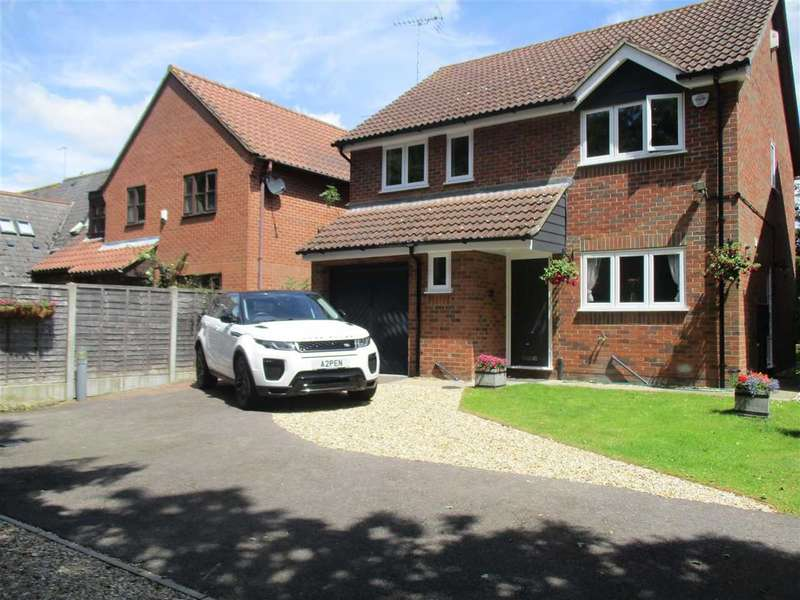 4 Bedrooms Detached House for sale in Pampas Close, Colchester