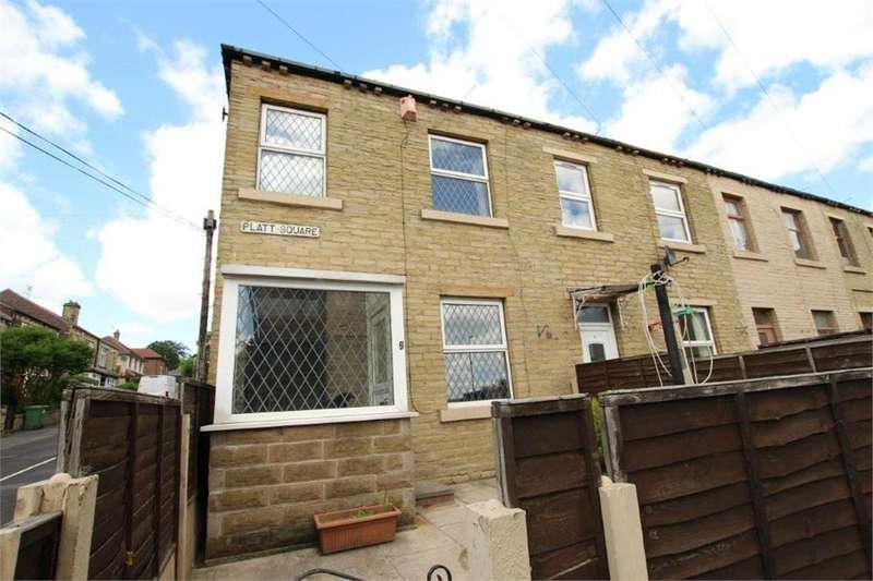 2 Bedrooms End Of Terrace House for sale in Platt Square, CLECKHEATON, West Yorkshire