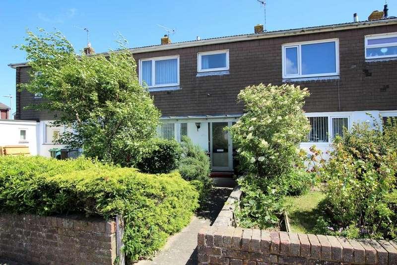 3 Bedrooms Terraced House for sale in Fraser Avenue, Eastbourne, BN23 6BD