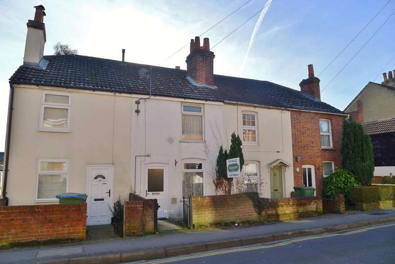 2 Bedrooms Terraced House for sale in GORDON ROAD, FAREHAM