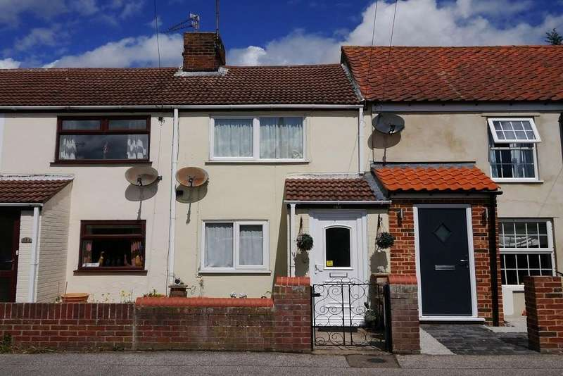 2 Bedrooms Terraced House for sale in Pakefield Street, Pakefield, Lowestoft
