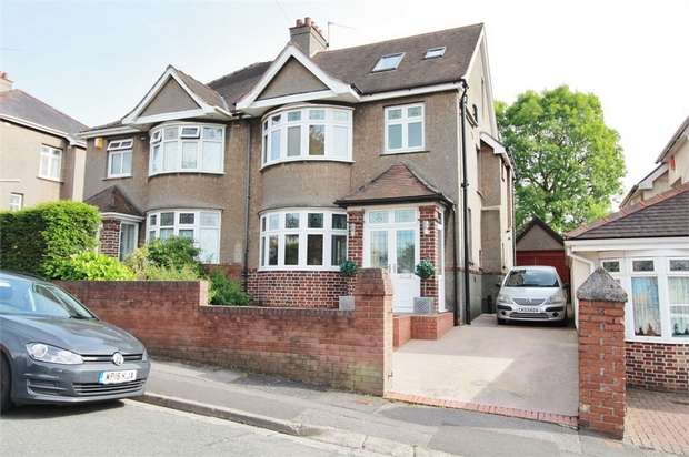 4 Bedrooms Semi Detached House for sale in Heather Road, NEWPORT