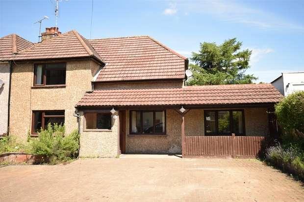 4 Bedrooms Semi Detached House for sale in 3 Larkfield Road, Bessels Green, Sevenoaks, Kent