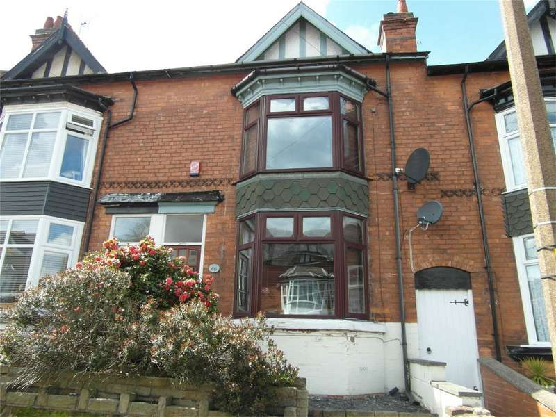4 Bedrooms Terraced House for sale in Rathbone Road, Smethwick, West Midlands