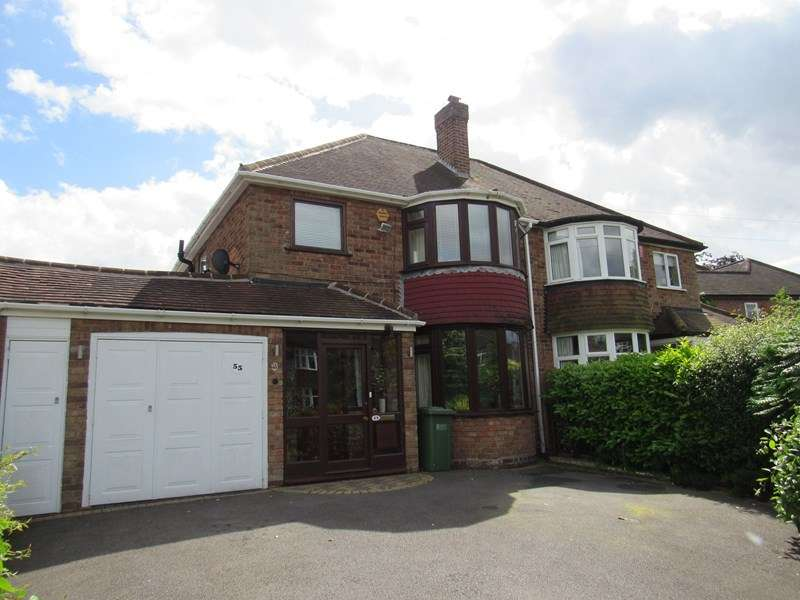 3 Bedrooms Semi Detached House for sale in Stoneleigh Road, Solihull