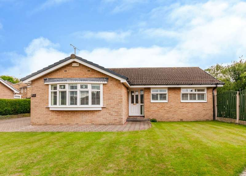 3 Bedrooms Detached Bungalow for sale in Milner Close, Bramley