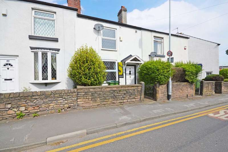 2 Bedrooms Terraced House for sale in Chester Road, Hazel Grove
