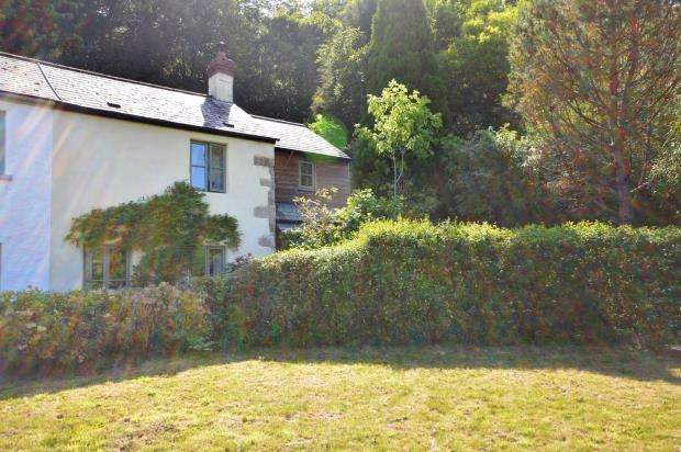 2 Bedrooms End Of Terrace House for sale in Woodgate Cottages, Liverton, Newton Abbot, Devon