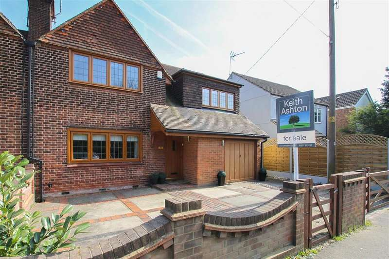 3 Bedrooms Semi Detached House for sale in Ongar Road, Kelvedon Hatch