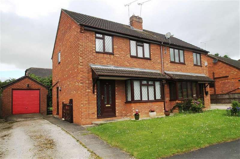 3 Bedrooms Semi Detached House for sale in Llys Derwen, Higher Kinnerton