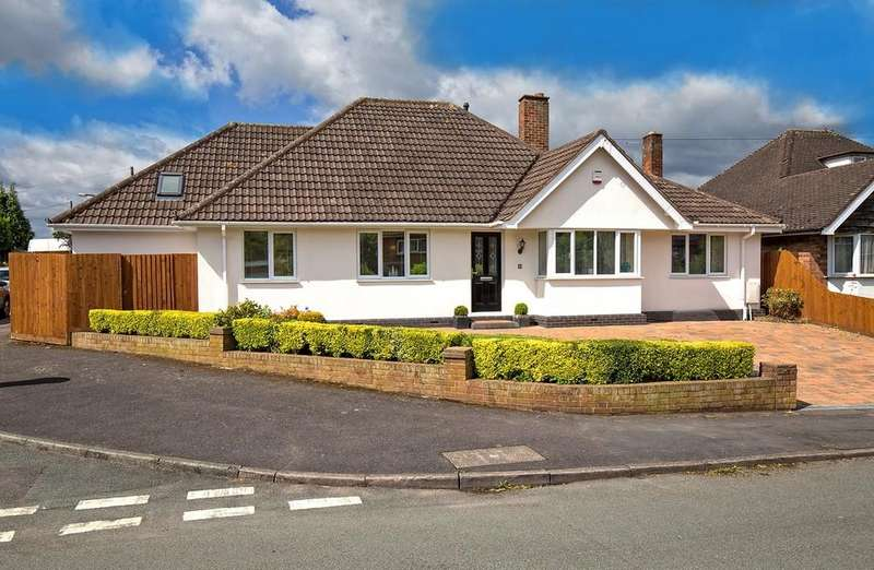 3 Bedrooms Detached Bungalow for sale in The Leasowe, Lichfield