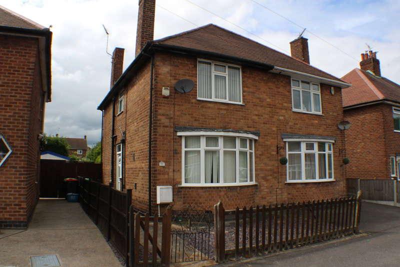 3 Bedrooms Semi Detached House for sale in Broxtowe Drive, Hucknall