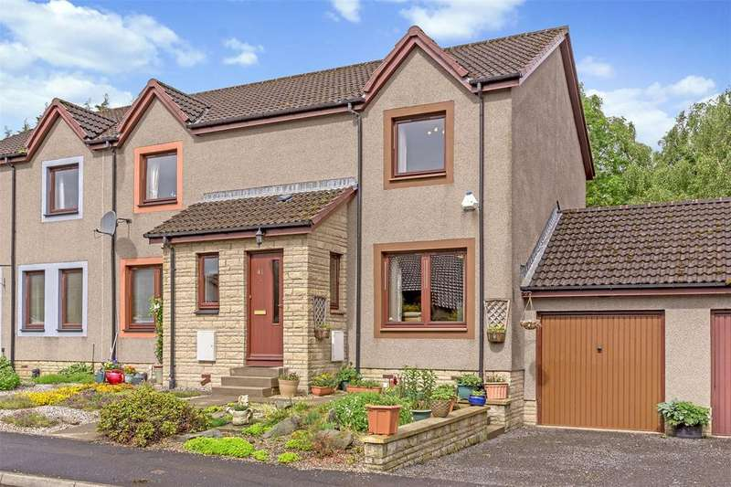 2 Bedrooms Terraced House for sale in 41 Errochty Grove, Perth, PH1