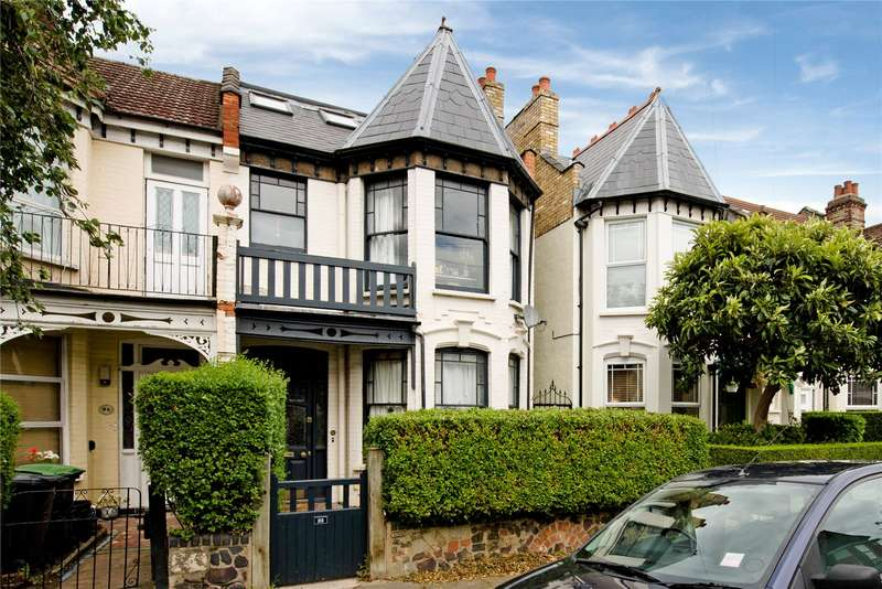 4 Bedrooms Semi Detached House for sale in Sylvan Avenue, London, N22
