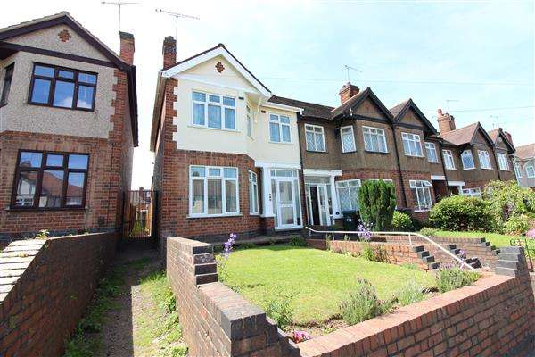 3 Bedrooms End Of Terrace House for sale in Prince Of Wales Road, Chapelfields, Coventry