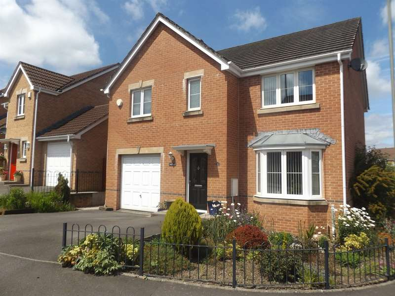 4 Bedrooms Detached House for sale in Skomer Island Way, Caerphilly