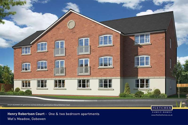 2 Bedrooms Flat for sale in Henry Robertson Drive, Gobowen, Oswestry, SY11