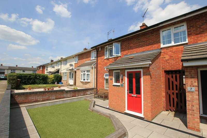 2 Bedrooms Terraced House for sale in Nash Close, Stevenage