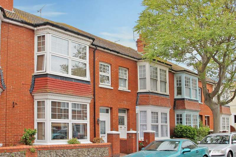 4 Bedrooms Terraced House for sale in Wordsworth Road, Worthing, BN11 3NH
