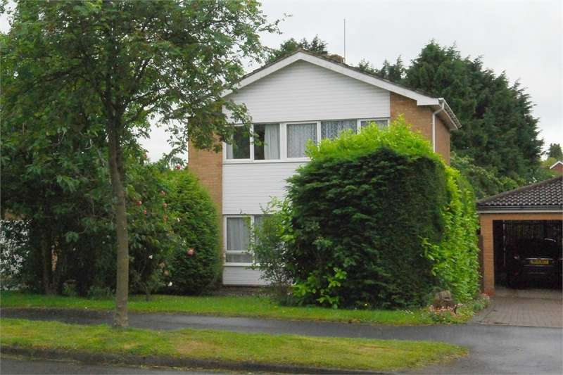 3 Bedrooms Detached House for sale in Orson Leys, RUGBY, Warwickshire