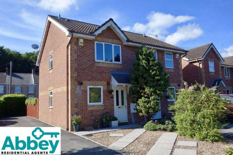 2 Bedrooms Semi Detached House for sale in Drumfields, Cadoxton, Neath, SA10 8AX