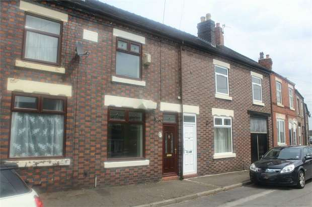 2 Bedrooms Terraced House for sale in Leycett Road, Scot Hay, Newcastle, Staffordshire