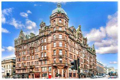 2 Bedrooms Flat for sale in Renfield Street, Glasgow
