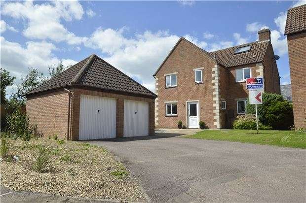 5 Bedrooms Detached House for sale in Wood Stanway Drive, Bishops Cleeve, GL52 8TL