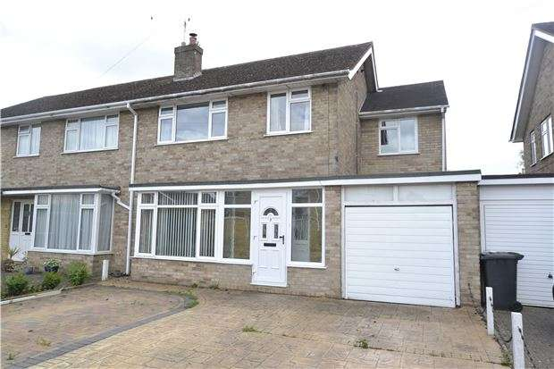 4 Bedrooms Semi Detached House for sale in Marlborough Crescent, Long Hanborough, WITNEY, Oxfordshire, OX29