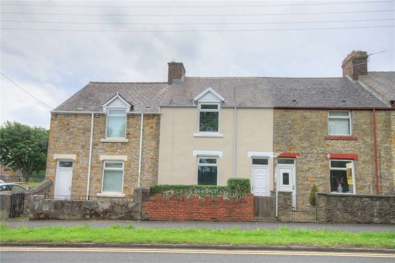 2 Bedrooms Terraced House for sale in Derwent Terrace, Stanley, Durham, DH9