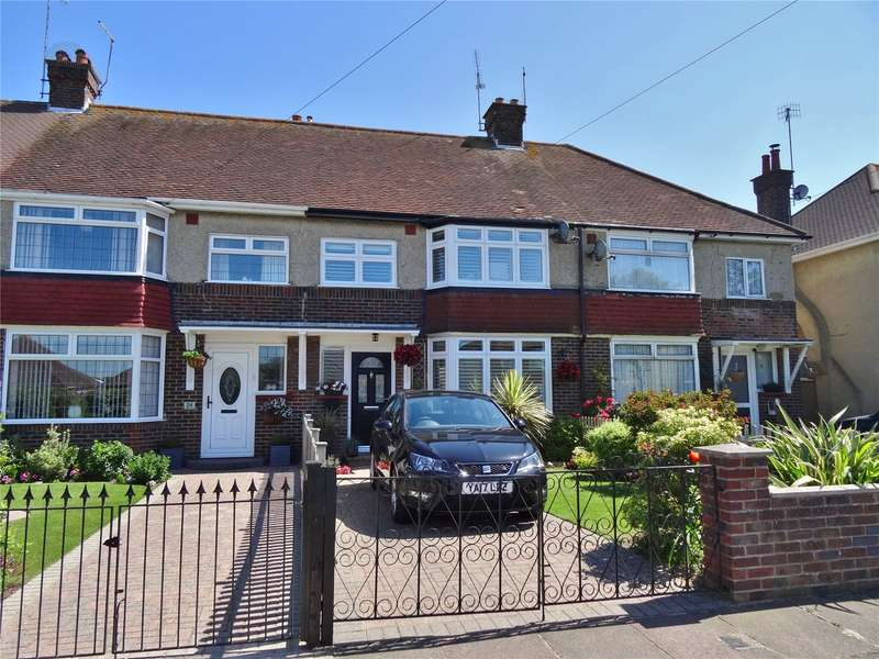 3 Bedrooms Terraced House for sale in Lindum Road, Tarring, Worthing, BN13