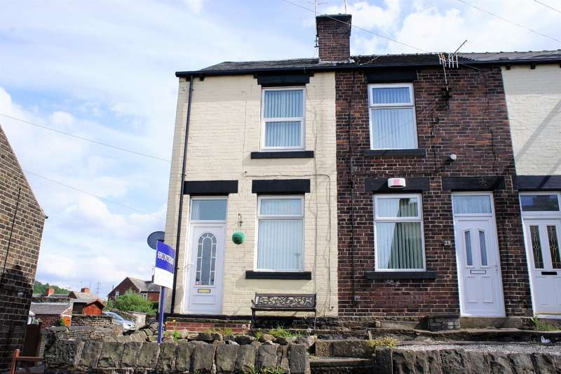 2 Bedrooms End Of Terrace House for sale in Carr Road, Deepcar, Sheffield, S36 2PQ