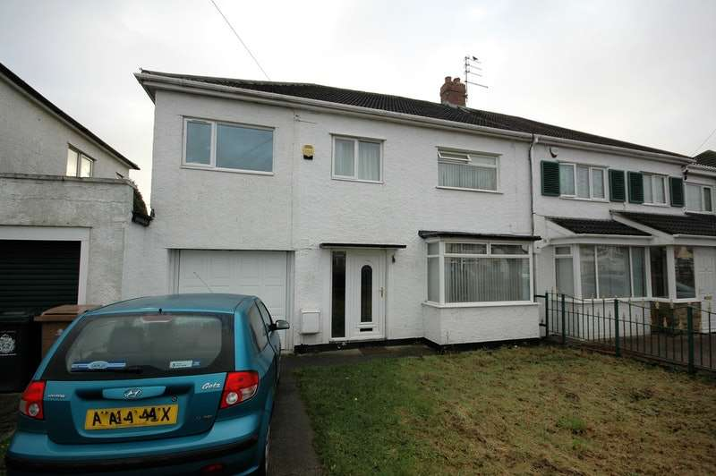 4 Bedrooms Semi Detached House for sale in Reynolds Avenue, West moor, Tyne and Wear, NE12