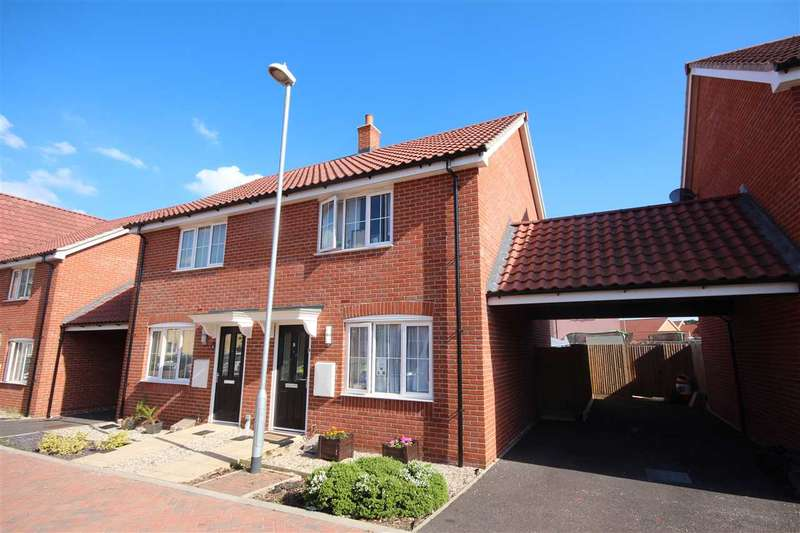 2 Bedrooms Semi Detached House for sale in Dresden Square, Clacton-On-Sea