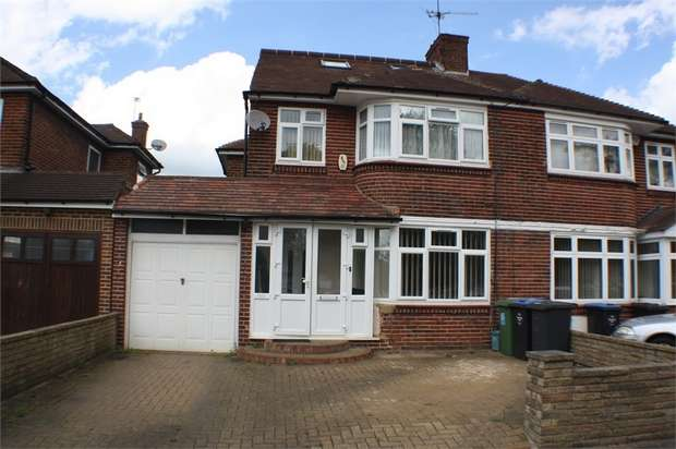 5 Bedrooms Semi Detached House for sale in Sherborne Gardens, London