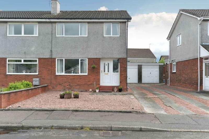 3 Bedrooms Semi Detached House for sale in Craigton Crescent, Alva, FK12 5DS