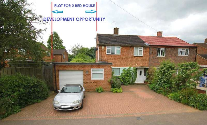 3 Bedrooms Semi Detached House for sale in DEVELOPMENT OPPORTUNITY 3/4 BED IN Alldicks Road, HP3