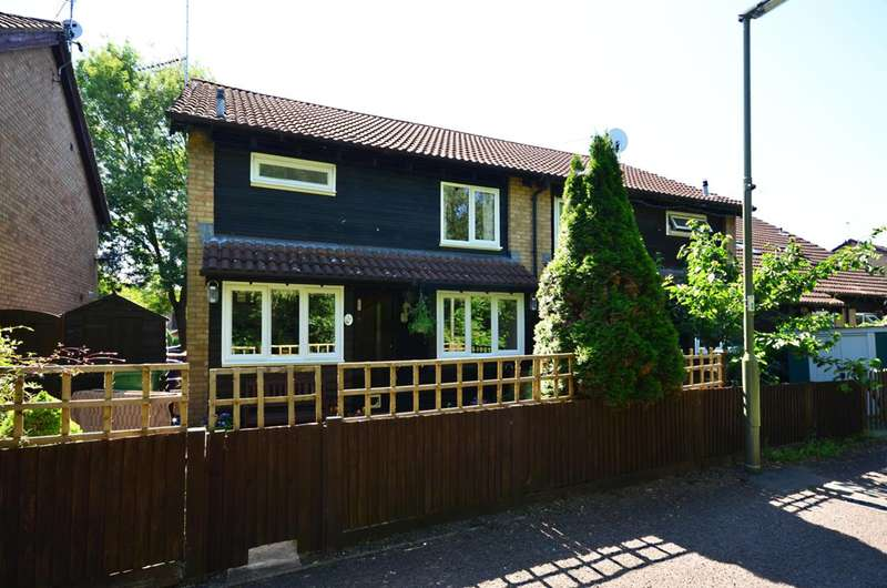 1 Bedroom End Of Terrace House for sale in Willowmead Close, Goldsworth Park, GU21