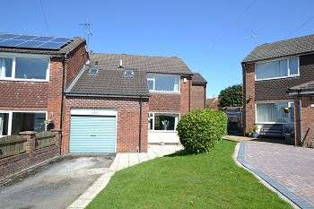 5 Bedrooms Link Detached House for sale in Rugby Drive, Macclesfield, Cheshire, SK10 2JF
