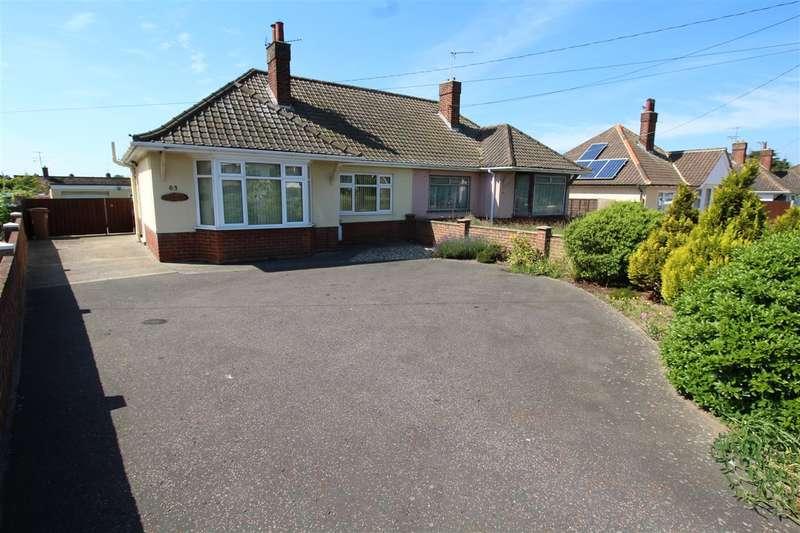 2 Bedrooms Bungalow for sale in Mill Lane, Felixstowe