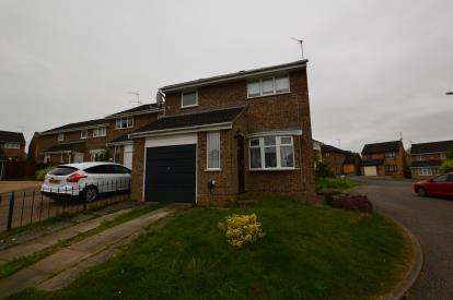 3 Bedrooms Detached House for sale in Jubilee Close, Roselands, Northampton, Northamptonshire