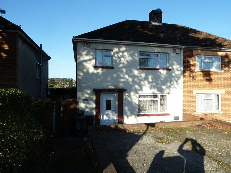 3 Bedrooms Semi Detached House for sale in Ringwood Road, Bear Cross, Bournemouth