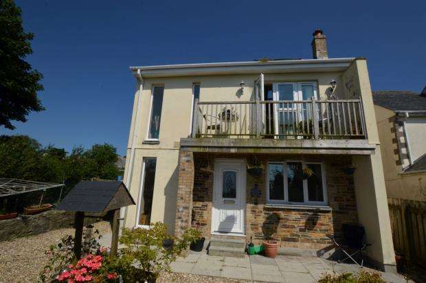 4 Bedrooms Detached House for sale in Melrose Terrace, Fraddon, St. Columb, Cornwall