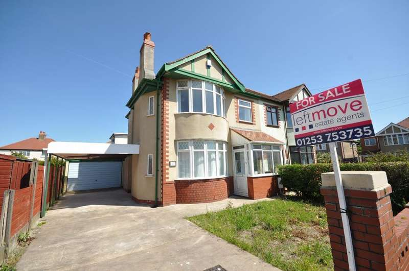 3 Bedrooms Semi Detached House for sale in St Andrews Avenue, Cleveleys, Blackpool, Lancashire, FY5 3NJ