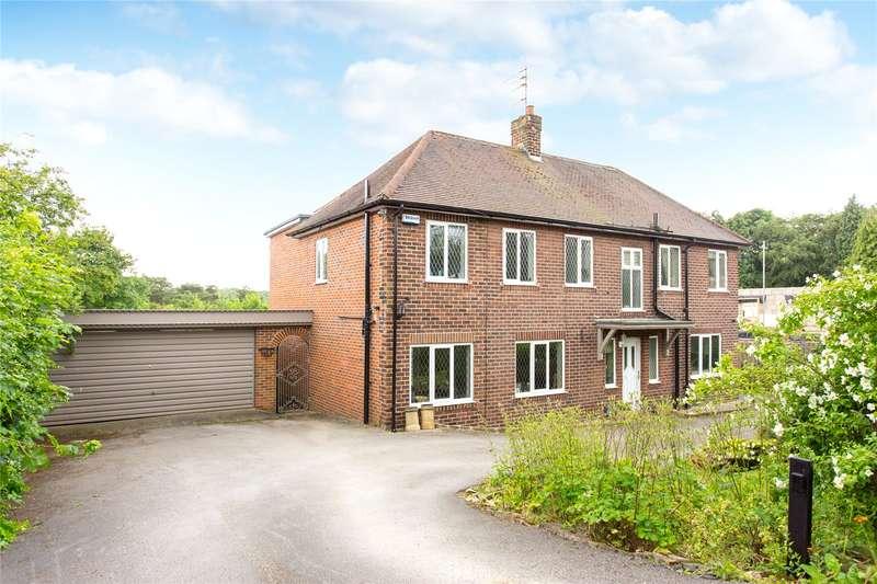 4 Bedrooms Detached House for sale in Alwoodley Lane, Leeds, West Yorkshire, LS17