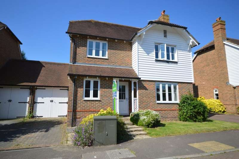 4 Bedrooms Detached House for sale in Mill Stream Place, Tonbridge, TN9
